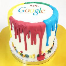 Торт в стиле Google