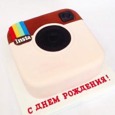 Торт в виде Инстаграм