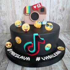 Торт в стиле Инстаграм