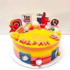 Торт Инстаграм на день рождения