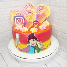 Торт Лайк на день рождения девочке