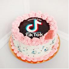 Торт Тик Ток для девочки 6 лет