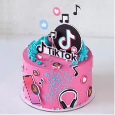Торт в стиле Тик Ток