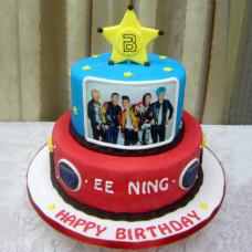 Торт для фанатов BIGBANG