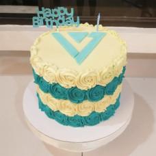 Торт для фанатки группы SEVENTEEN