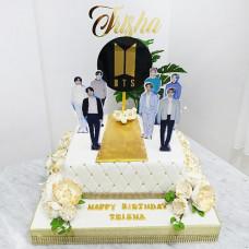 Торт BTS на день рождения