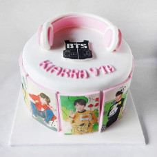 Торт на тему BTS