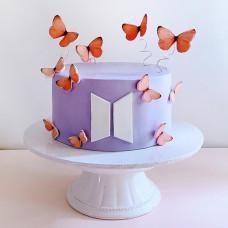 Торт в стиле БТС