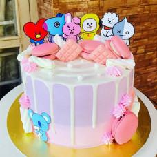 Торт БТС на день рождения девочке