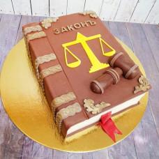 Торт книга для юриста