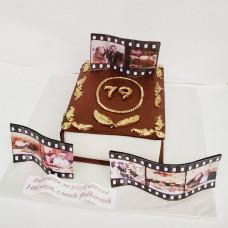 Торт книга на день рождения
