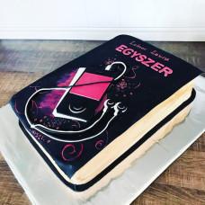 Торт книга для женщины