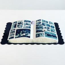 Торт в виде открытой книги