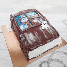 Торт книга дедушке