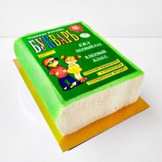 Торт книга без мастики