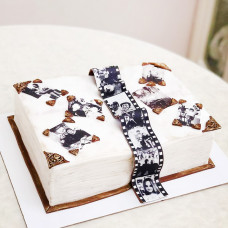 Торт раскрытая книга