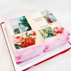Торт развернутая книга