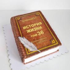 Торт для книжного магазина