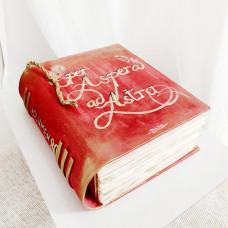 Торт книга для мужчины на юбилей