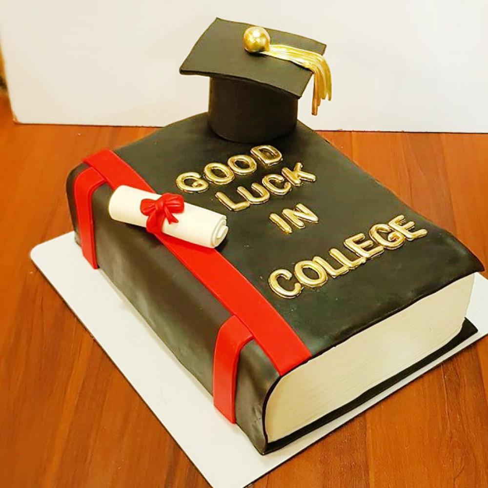 Торт в форме книги