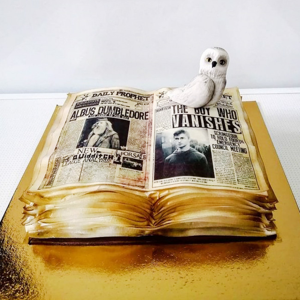 Торт книга Гарри