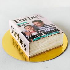Торт Обложка Форбс