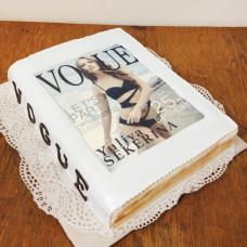 Торт журнал Vogue