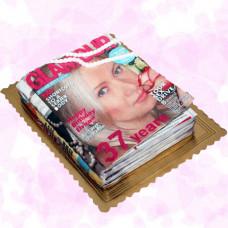 Торт журнал Glamour