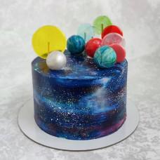 Торт вселенная космос
