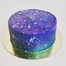 Торт космическая тематика