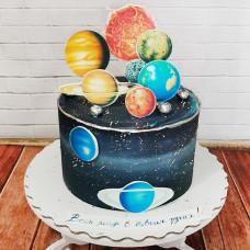 Торт Весь мир в твоих руках