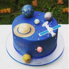 Торт спутник
