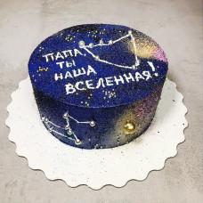 Торт на космическую тему