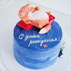 Торт космос для девочки