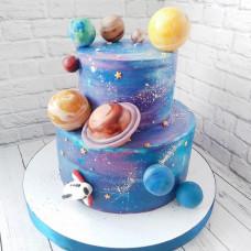Торт на тему космос