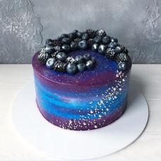 Торт космос без мастики