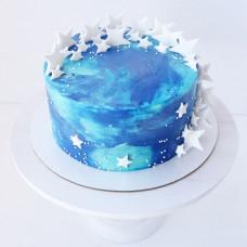 Красивый торт космос