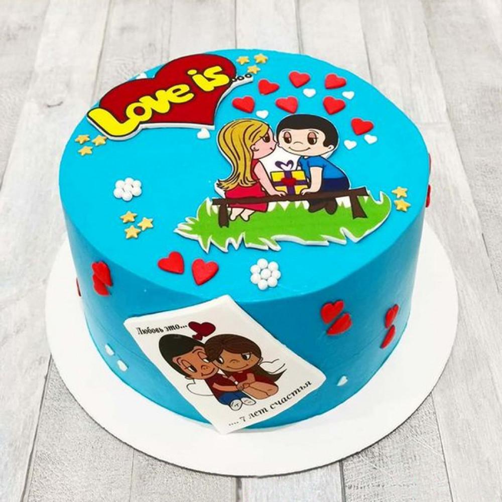 Торт Любовь - это