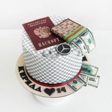 Торт сыну 14 лет паспорт