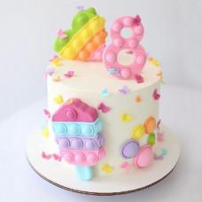 Торт девочке Поп ит