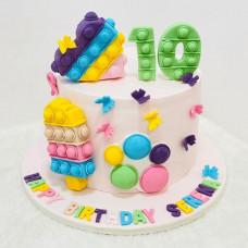 Торт Поп ит на 10 лет