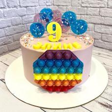 Торт Поп ит на 9 лет
