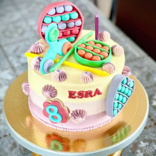 Торт игрушки спинер и Pop-it