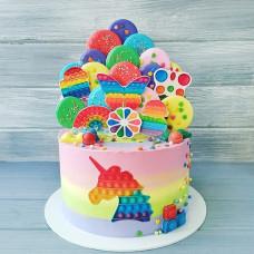 Торт для девочки Симпл димпл