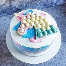 Торт Поп ит Единорожка