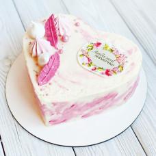 Торт сердце маме на день рождения