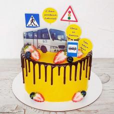 Торт для водителя автобуса