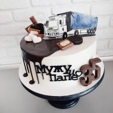 Торт для водителя дальнобойщика