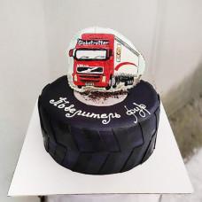 Торт дальнобойщику на день рождения