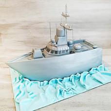 Торт на День Военно-Морского флота
